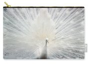 The White Peacock Carry-all Pouch