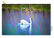 The White Swan Carry-all Pouch by Bill Cannon