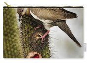The White Winged Dove  Carry-all Pouch