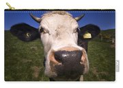The Wideangled Cow  Carry-all Pouch