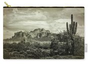 The Wild West Of The Superstitions  Carry-all Pouch
