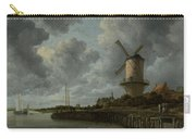 The Windmill At Wijk Bij Duurstede 1668-1670 Carry-all Pouch