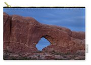The Window At Arches N.p. After Dark Carry-all Pouch