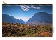 The Window In The Chisos Mountains Carry-all Pouch