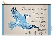 The Wings Of Hope Carry-all Pouch