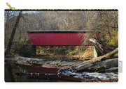 The Wissahickon Creek In Autumn - Thomas Mill Covered Bridge Carry-all Pouch