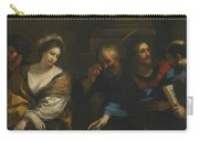 The Woman Taken In Adultery Carry-all Pouch