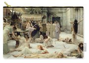 The Women Of Amphissa Carry-all Pouch by Sir Lawrence Alma-Tadema