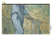 The Woodcutter After Millet Saint Remy De Provence September 1889 Vincent Van Gogh 1853  1890 Carry-all Pouch