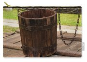 The Wooden Bucket Carry-all Pouch