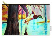 The Woodland Pond Carry-all Pouch