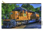 The Workhorse Squaw Creek Southern Rail Road Locomotive Art Carry-all Pouch