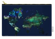 The World In Blues Carry-all Pouch