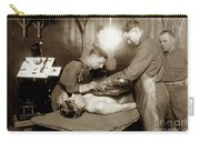 The X-ray Department Base Hospital 34, U. S. A., Nantes, France,  1918 Carry-all Pouch