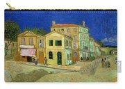 The Yellow House Carry-all Pouch by Vincent Van Gogh