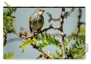 The  Yellow-rumped Warbler Carry-all Pouch
