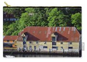 The 1905 Wooden Andreas Odfjell Warehouse On Bergen Harbor Carry-all Pouch