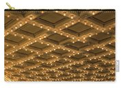 Theater Ceiling Marquee Lights Carry-all Pouch
