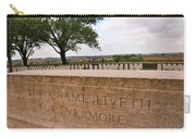 Their Name Liveth For Evermore Carry-all Pouch