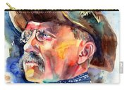 Theodore Roosevelt Painting Carry-all Pouch