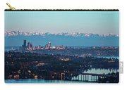 The_olympics_over_seattle Carry-all Pouch