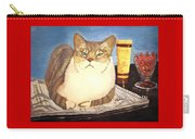Therapy Cat Carry-all Pouch