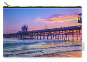 There Will Be Another One - San Clemente Pier Sunset Carry-all Pouch