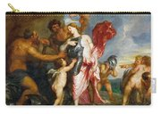 Thetis Receiving The Weapons Of Achilles From Hephaestus Carry-all Pouch