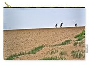 They Are Not At The Top Of This Dune Climb In Sleeping Bear Dunes National Lakeshore-michigan Carry-all Pouch