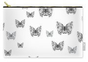 They Might Be Butterflies Carry-all Pouch