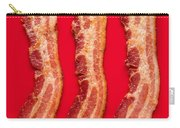 Thick Cut Bacon Served Up Carry-all Pouch
