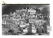 Thiksey Monastery - Paint Bw Carry-all Pouch