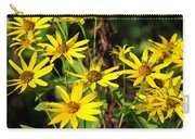Thin-leaved Sunflower Carry-all Pouch