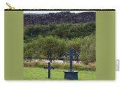 Thingvellir Church Cemetery, Iceland Carry-all Pouch