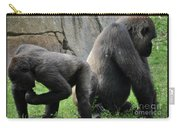 Thinking Gorilla Carry-all Pouch