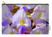 Thinking Of You Wisteria Carry-all Pouch