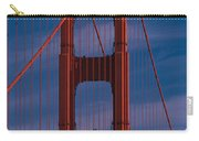 This Is A Close Up Of The Golden Gate Carry-all Pouch