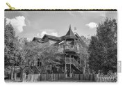 This Old House In Black And White Carry-all Pouch
