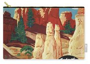 This Summer - Visit Bryce Canyon National Par, Utah, Usa - Retro Travel Poster - Vintage Poster Carry-all Pouch