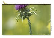 Thistle And Mustard Carry-all Pouch