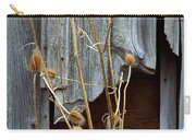 Thistle And Wood Carry-all Pouch