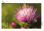 Thistle Flowers Carry-all Pouch