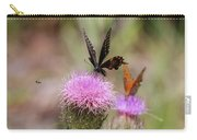 Thistle Pollinators - Large And Small Carry-all Pouch