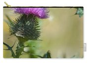Thistle Spikes Carry-all Pouch