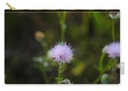 Thistles Morning Dew Carry-all Pouch