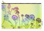 Thistles Under The Sun Carry-all Pouch