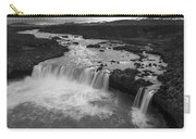 Thofafoss Waterfall Iceland 1538 Carry-all Pouch
