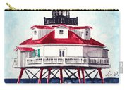 Thomas Point Shoal Lighthouse Annapolis Maryland Chesapeake Bay Light House Carry-all Pouch