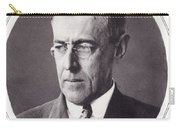 Thomas Woodrow Wilson, 1856 To 1924 Carry-all Pouch