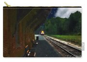 Thomaston Train At Night Carry-all Pouch